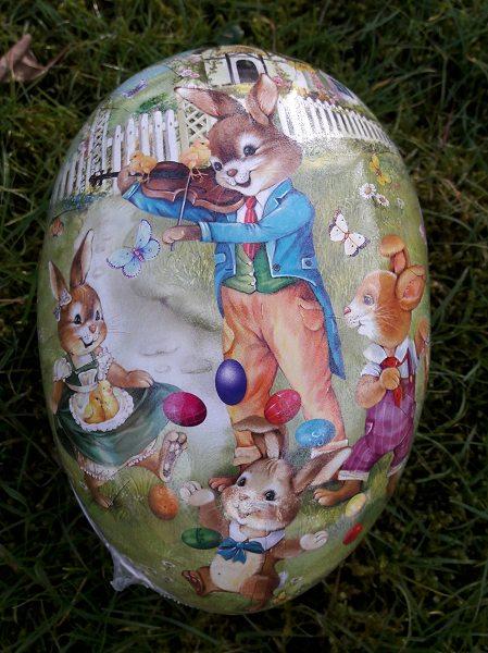 Eierjonglieren 18cm