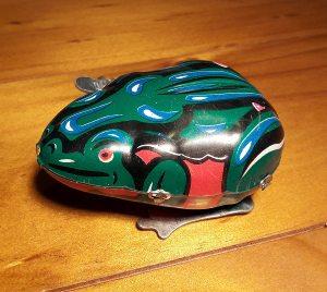 Blechfrosch grün