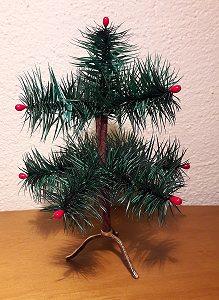 Federbaum grün 16cm