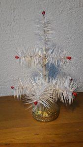 Federbaum weiß 18cm Masseständer