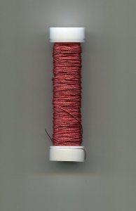 Cordonett-Draht,bordeaux 0,18mm, 10 Gramm