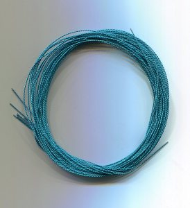 Cordonett-Draht, türkis 0,23mm