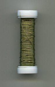 Cordonett-Draht, oliv 0,18mm, 10 Gramm