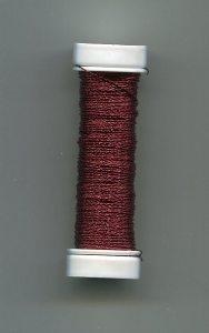 Cordonett-Draht, weinrot 0,2mm