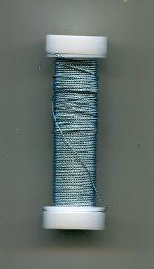 Cordonett-Draht, hellblau 0,18mm, 10 Gramm