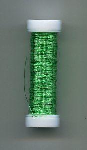 Lackdraht, apfelgrün, 0,18er, ca.25 Gramm