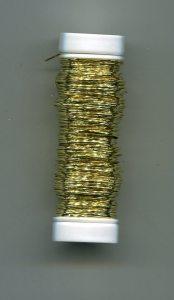 Draht ummantelt gold, 0,3er