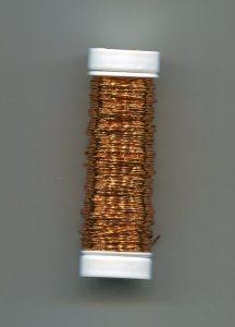 Draht ummantelt orange, 0,3er