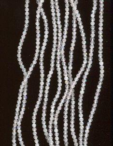 Rosenquarzperlen geschliffen 2mm 50 Stück
