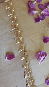Metallband 11mm gold links