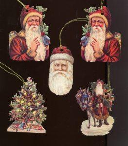 Geschenkanhänger Weihnachtsmann