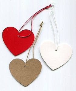 Geschenkanhänger Herz