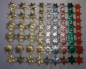 Sternsortiment, gold