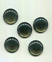Muggelsteine 5 Stück moosgrün 30mm