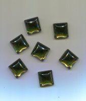 Muggelstein moosgrün 14x14mm