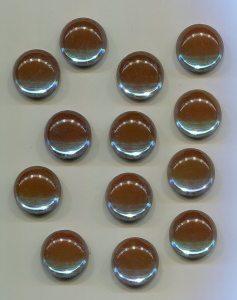 1 Muggelstein farbwechseln, 16 mm