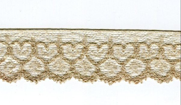 Seidenklöppelspitze, 50 cm