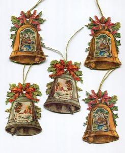 Geschenkanhänger Glocken