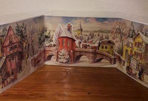 3D Adventskalender Postkutsche