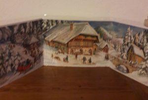 Panor. Adventskalender Bauernhaus