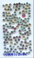 Gefasste Steinchen, 10 g