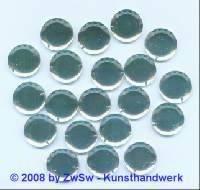 Spiegelstein aus Acrylglas, Ø 18mm, kristall, 1 Stück