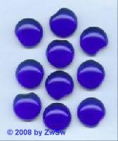 Muggel-Stein 10 Stück, Ø 18mm  (dunkelblau)