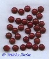 Muggelsteine in bordeaux, Ø 12mm