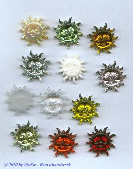 Sonnenanhänger, 1 Set