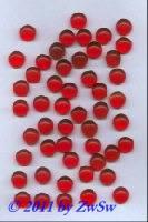 Muggelsteine, rot, unverspiegelt, Ø 11mm
