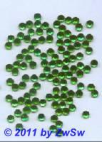 Strasssteine 1000 Stück, Ø 5mm (grün)