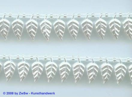 Blattperlen-Borte, 50 Zentimeter, 15mm breit