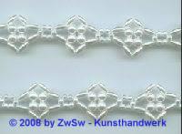 Perlen-Borte, 50 Zentimeter, 19mm breit