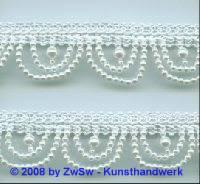 Perlen-Borte, 50 Zentimeter, 30mm breit