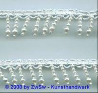 Perlen-Borte, 50 Zentimeter, 24mm breit