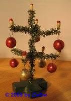 Minichristbaum geschmückt