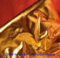 Stoff glänzend gold ca.70cm x 50cm