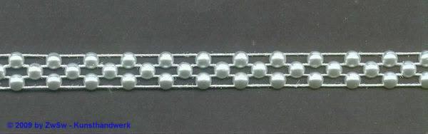 Swarovski Perlen-Borte, chapnr 9mm breit, 50cm