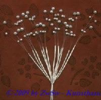 Perlenstränge 12 Stück weiß, 6mm und 4mm