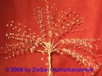 Perlenstränge 12 Stück weiß