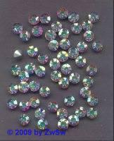 Swarovski/Jewels, ss19 kristall/AB, 1 Stück