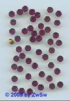 Swarovski/Jewels,ss 24 fuchsia, 1 Stück