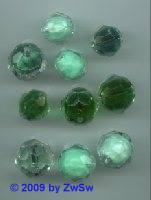 Perlenmischung grün