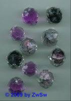 Perlenmischung amethyst