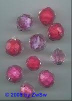 Perlenmischung rosa