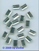 Strassstein kristall rechteckig 14mm x 9mm