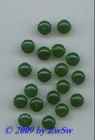 Halblochperle in jade, Ø 9,5mm, 1 Stück