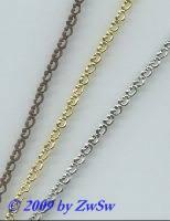 Metallband, 3mm, rohware, 10 cm