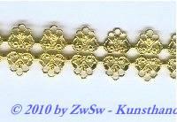 Metallband, 19mm, gold 10 cm