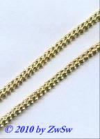 Metallband, 4,5mm, gold, 10 cm